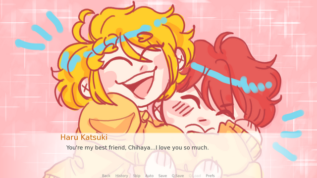 "Screenshot of ""haruki's magical adventure !"""