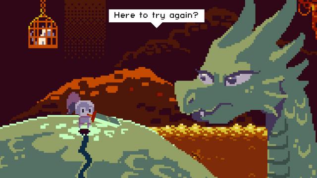 "Screenshot of ""Deepest Sword"""