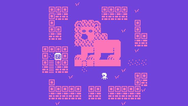 """Screenshot of """"THE LION'S BEAK, or six ways to not make a videogame"""""""