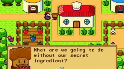 """Screenshot of """"Buffet Knight"""""""