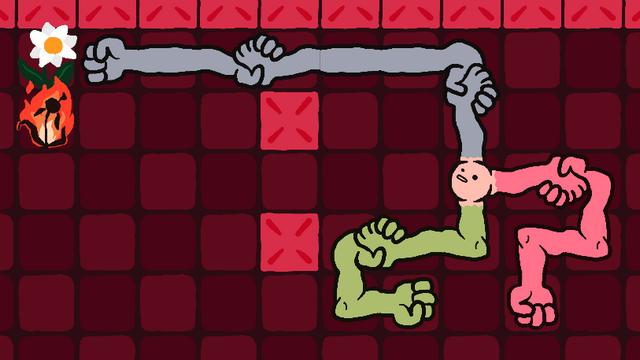 "Screenshot of ""Devil's Handshake"""