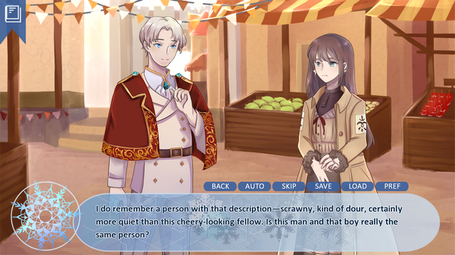 """Screenshot of """"Eternal Winter"""""""