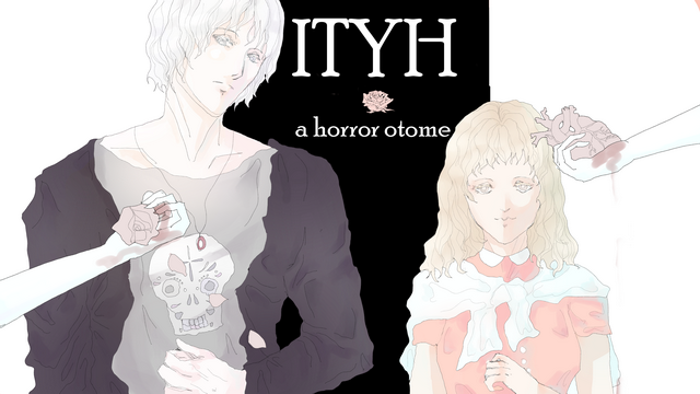 """Screenshot of """"ITYH: a horror otome"""""""