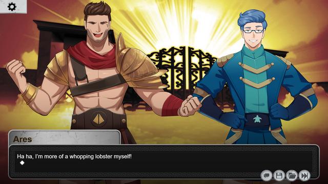 """Screenshot of """"Olympus Love"""""""