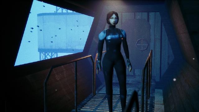 """Screenshot of """"ENDLESS BLUE"""""""
